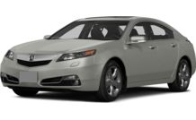 Colors, options and prices for the 2014 Acura TL
