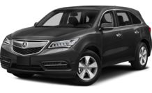 Colors, options and prices for the 2014 Acura MDX