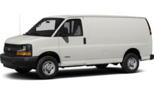 Colors, options and prices for the 2014 Chevrolet Express 2500