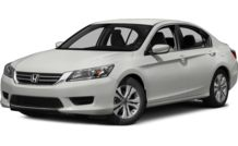 Colors, options and prices for the 2014 Honda Accord