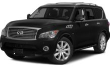 Colors, options and prices for the 2014 Infiniti QX80