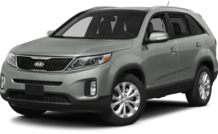 Colors, options and prices for the 2014 Kia Sorento
