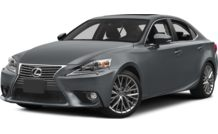 Colors, options and prices for the 2014 Lexus IS 250