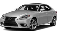 Colors, options and prices for the 2016 Lexus IS 350