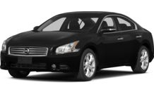 Colors, options and prices for the 2014 Nissan Maxima