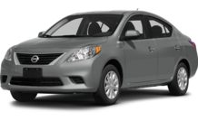 Colors, options and prices for the 2014 Nissan Versa