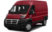Colors, options and prices for the 2016 RAM ProMaster 2500