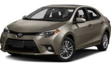 Colors, options and prices for the 2014 Toyota Corolla