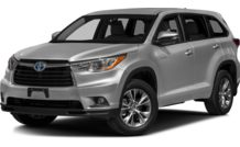 Colors, options and prices for the 2016 Toyota Highlander Hybrid