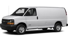 Colors, options and prices for the 2015 Chevrolet Express 3500