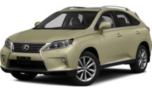 Colors, options and prices for the 2015 Lexus RX 350