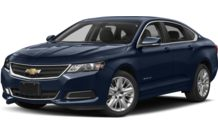 Colors, options and prices for the 2016 Chevrolet Impala