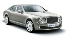 Colors, options and prices for the 2014 Bentley Mulsanne