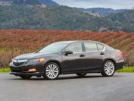 Brief summary of 2015 Acura RLX vehicle information