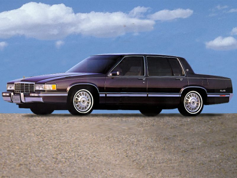 1992 cadillac deville reviews specs and prices. Black Bedroom Furniture Sets. Home Design Ideas
