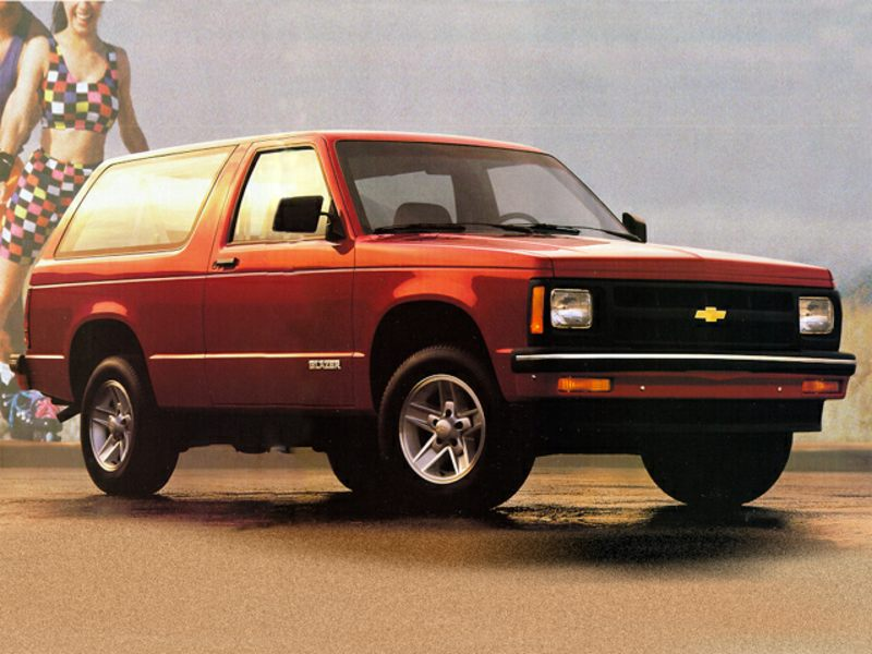 1992 chevrolet s 10 blazer reviews specs and prices. Black Bedroom Furniture Sets. Home Design Ideas