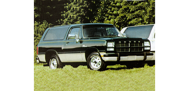 1992 Dodge Ramcharger