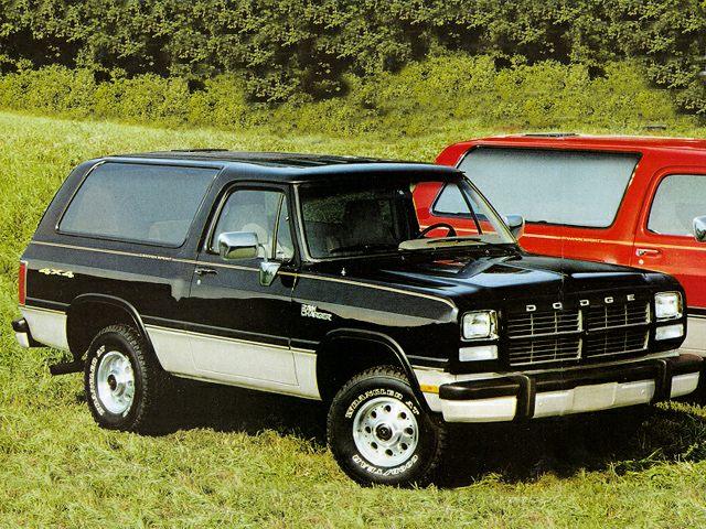 1993 Dodge Ramcharger Specs Pictures Trims Colors Cars Com
