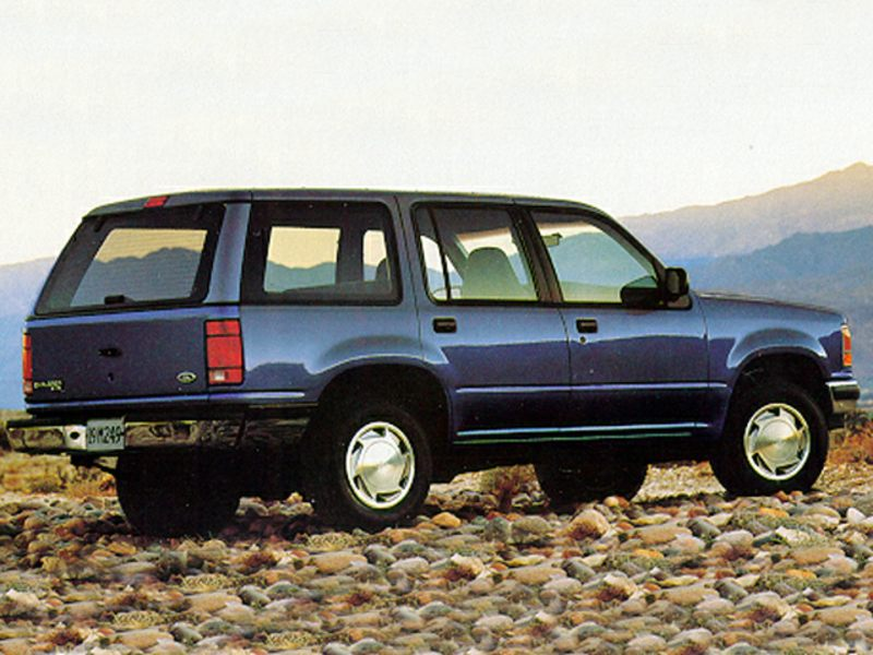 1992 ford explorer reviews specs and prices. Black Bedroom Furniture Sets. Home Design Ideas