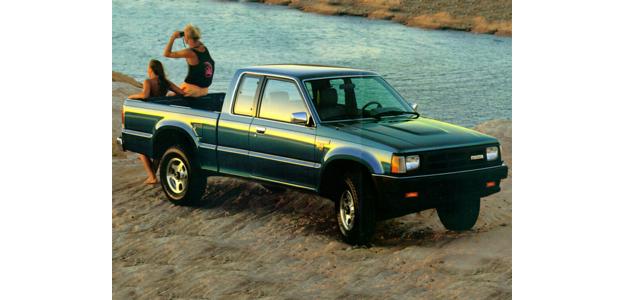 1992 Mazda B2600I