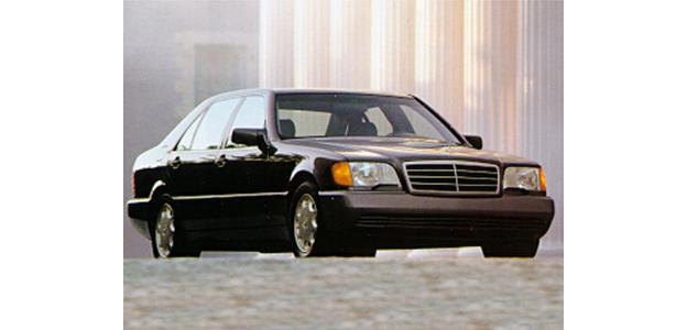 1992 Mercedes-Benz 600