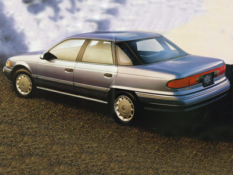 1992 mercury sable reviews specs and prices. Black Bedroom Furniture Sets. Home Design Ideas