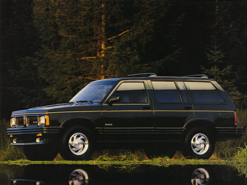 1992 oldsmobile bravada reviews specs and prices. Black Bedroom Furniture Sets. Home Design Ideas