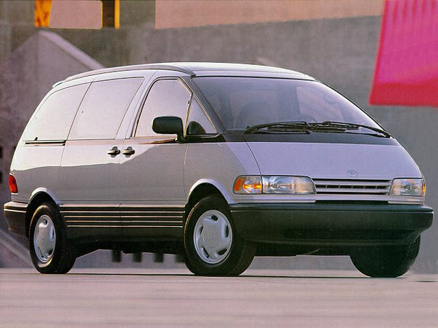 1992 Toyota Previa LE Minivan for sale in Arlington for $3,995 with 139,072 miles.