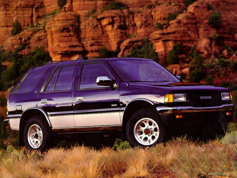 Best Suv For The Money >> 1992 Isuzu Rodeo Specs, Pictures, Trims, Colors    Cars.com