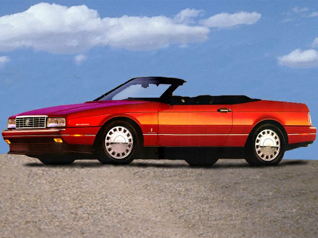 1993 Cadillac Allante Convertible for sale in Cathedral City for $29,991 with 14,772 miles