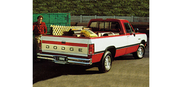 1993 Dodge D150