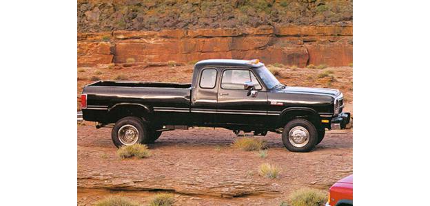 1992 Dodge D350
