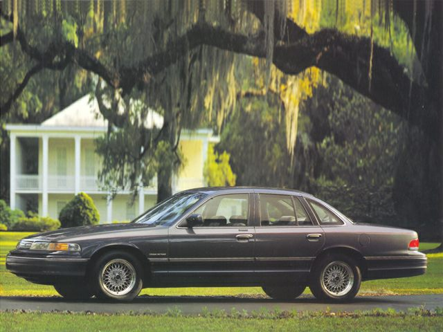 1993 Ford Crown Victoria LX Sedan for sale in Dothan for $5,995 with 177,095 miles