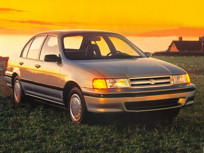 1993 toyota tercel reviews specs and prices. Black Bedroom Furniture Sets. Home Design Ideas