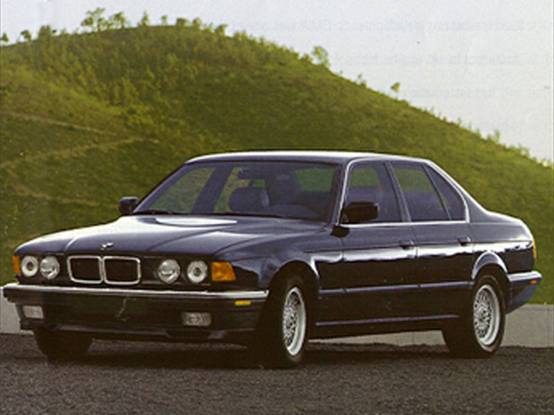 1994 bmw 740 reviews specs and prices. Black Bedroom Furniture Sets. Home Design Ideas