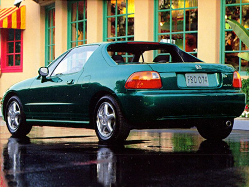 1995 honda del sol reviews specs and prices. Black Bedroom Furniture Sets. Home Design Ideas