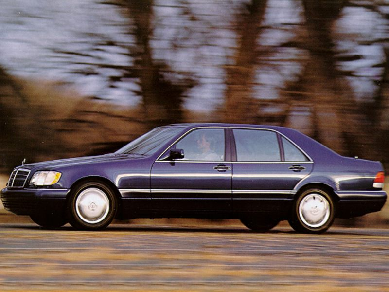 1995 mercedes benz s class reviews specs and prices for Mercedes benz s320 price