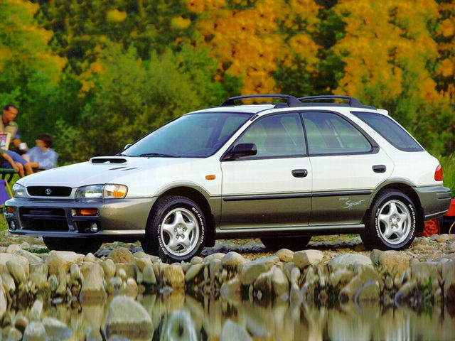 1995 Subaru Impreza Reviews Specs And Prices Cars Com