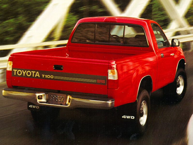 1995 toyota t100 reviews specs and prices. Black Bedroom Furniture Sets. Home Design Ideas