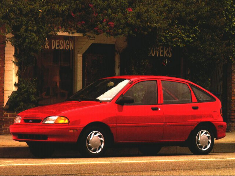 Listing All Cars For Sale >> 1996 Ford Aspire Reviews, Specs and Prices   Cars.com