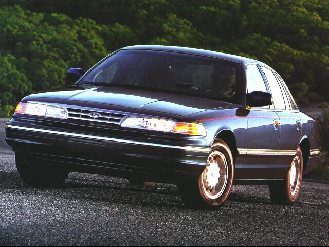 1996 Ford Crown Victoria LX Sedan for sale in Roseville for $3,995 with 55,702 miles