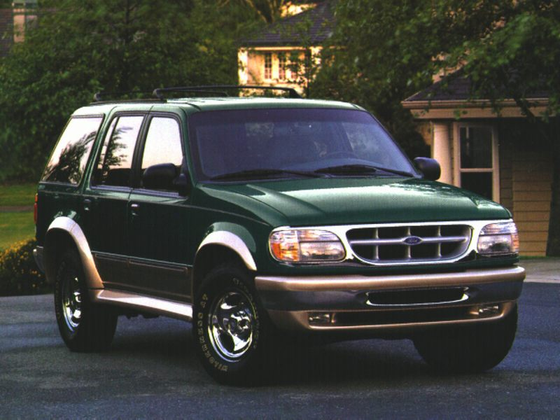 1996 ford explorer specs pictures trims colors. Black Bedroom Furniture Sets. Home Design Ideas