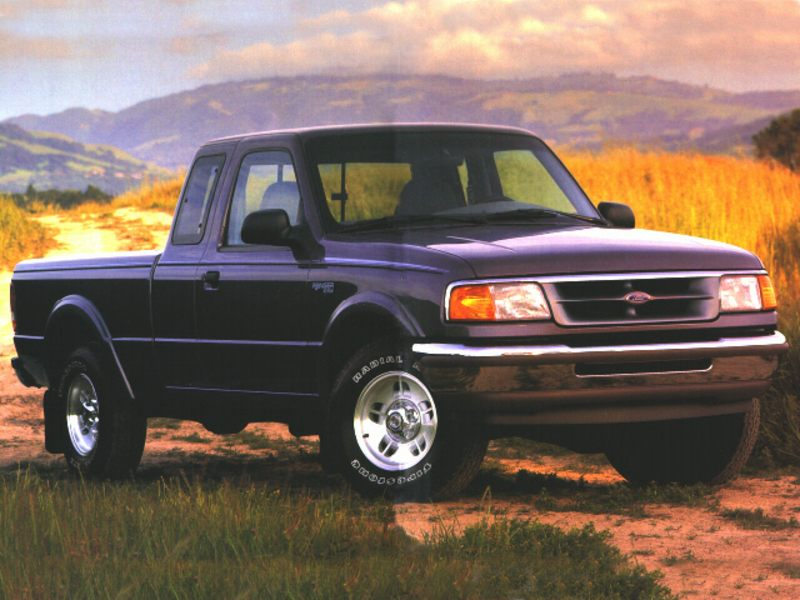 1996 ford ranger reviews specs and prices. Black Bedroom Furniture Sets. Home Design Ideas