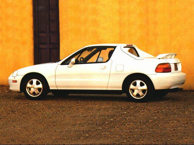 1997 Honda Del Sol Specs Pictures Trims Colors Cars Com