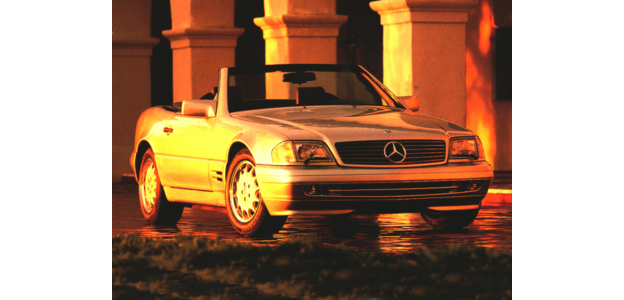 1996 Mercedes-Benz SL450