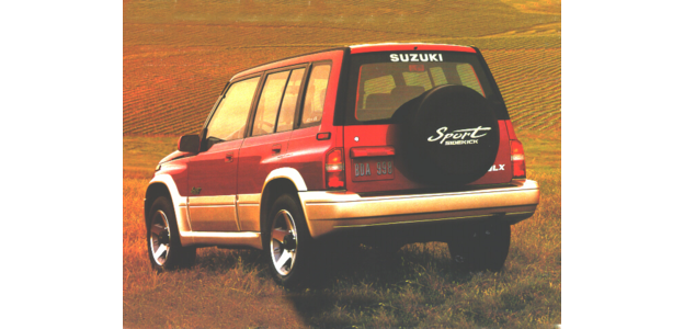 1996 Suzuki Sidekick
