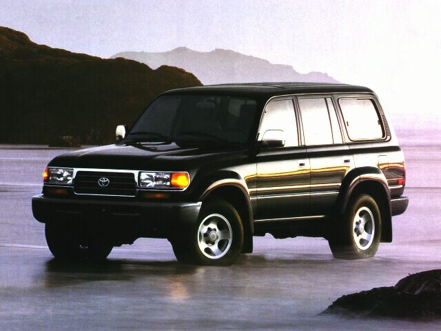 1997 Toyota Land Cruiser Reviews Specs And Prices Cars Com