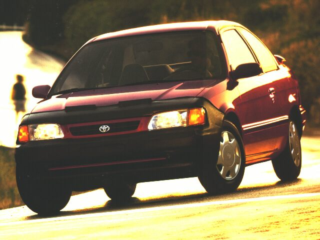 1996 Toyota Tercel Sedan for sale in Fort Worth for $3,888 with 250,000 miles.