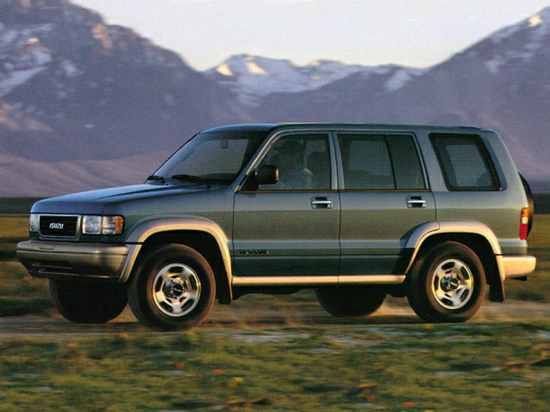 1997 isuzu trooper specs pictures trims colors. Black Bedroom Furniture Sets. Home Design Ideas