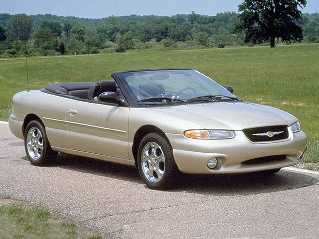 1998 Chrysler Sebring Reviews Specs And Prices Cars Com
